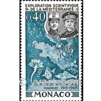 n° 805 -  Timbre Monaco Poste