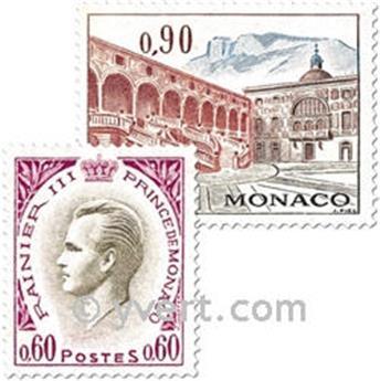 n.o 847/850 -  Sello Mónaco Correos