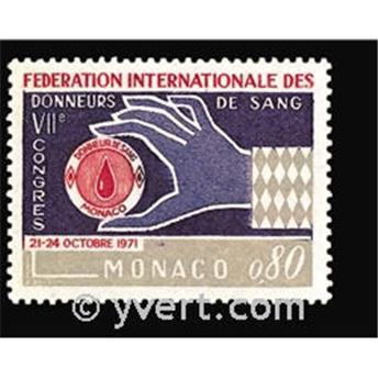 n° 860 -  Timbre Monaco Poste