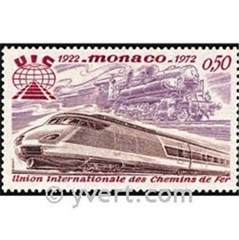 n.o 879 -  Sello Mónaco Correos