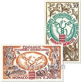n.o 894/896 -  Sello Mónaco Correos