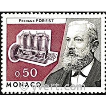 n.o 962 -  Sello Mónaco Correos