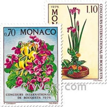 n.o 984/985 -  Sello Mónaco Correos