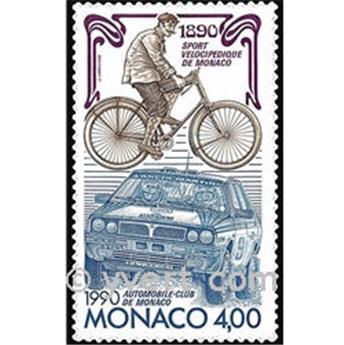 n.o 1717 -  Sello Mónaco Correos