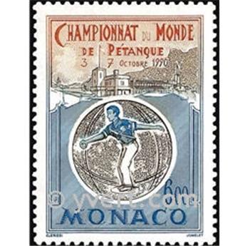 n.o 1742 -  Sello Mónaco Correos