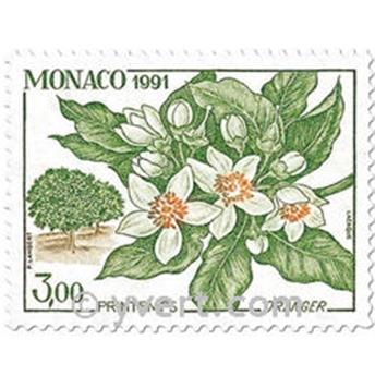 n° 1790/1793 (BF 54) -  Selo Mónaco Correios