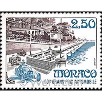 n° 1814 -  Selo Mónaco Correios