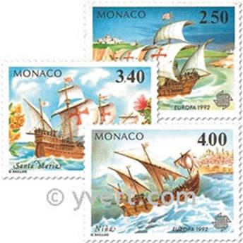 n° 1825/1827 -  Timbre Monaco Poste