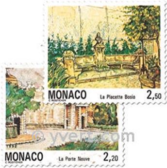 n.o 1832/1833 -  Sello Mónaco Correos