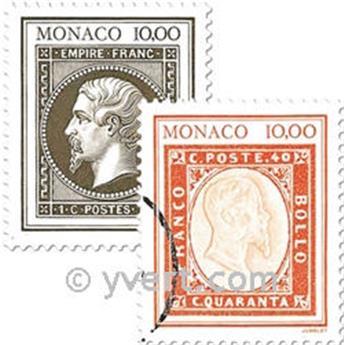 n.o 1844/1845 (BF 58) -  Sello Mónaco Correos