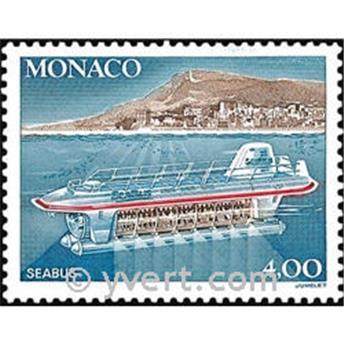 n° 1852 -  Timbre Monaco Poste