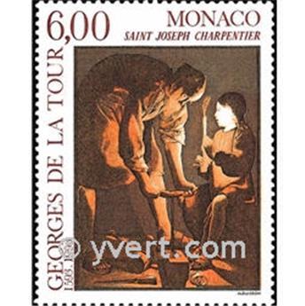 n° 1910 -  Timbre Monaco Poste