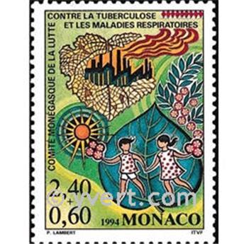 n° 1931 -  Timbre Monaco Poste