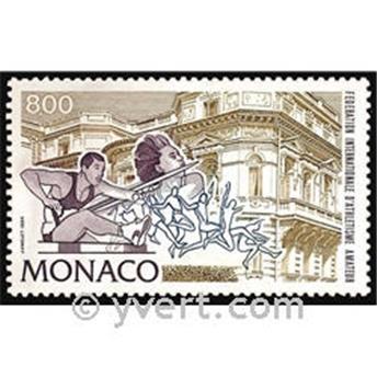 n° 1941 -  Timbre Monaco Poste