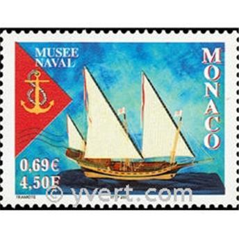 n° 2304 -  Selo Mónaco Correios