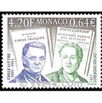 n° 2308 -  Selo Mónaco Correios