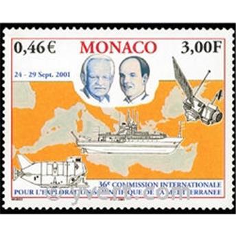 n° 2318 -  Selo Mónaco Correios