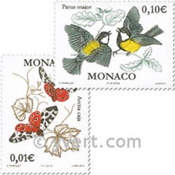 n° 2323/2326 -  Selo Mónaco Correios