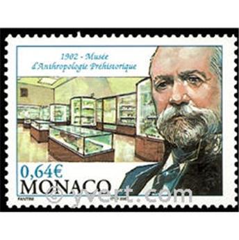 n.o 2338 -  Sello Mónaco Correos