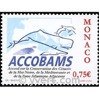 n.o 2342 -  Sello Mónaco Correos