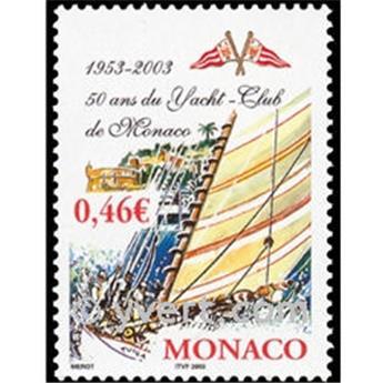 n° 2384 -  Selo Mónaco Correios