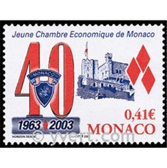 n.o 2389 -  Sello Mónaco Correos