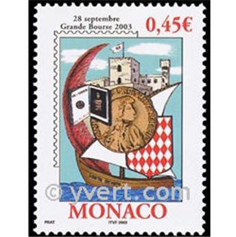 n° 2395 -  Selo Mónaco Correios