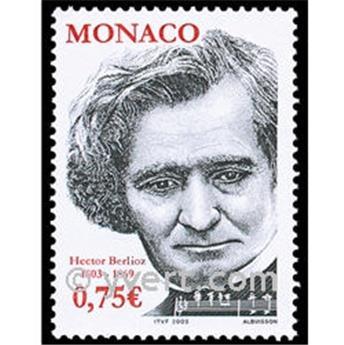 n.o 2400 -  Sello Mónaco Correos