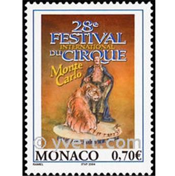 n° 2416 -  Selo Mónaco Correios