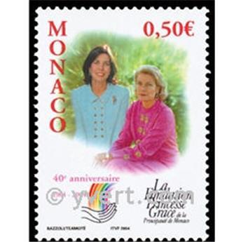 n° 2425 -  Selo Mónaco Correios