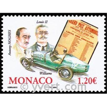 n° 2435 -  Selo Mónaco Correios