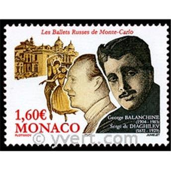 n° 2446 -  Selo Mónaco Correios