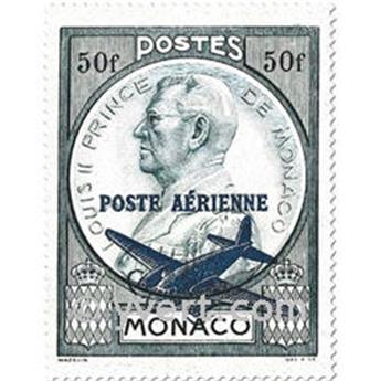 n.o 13 / 14 -  Sello Mónaco Correo aéreo