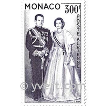n° 71/72 -  Selo Mónaco Correio aéreo