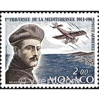 n° 81 -  Selo Mónaco Correio aéreo