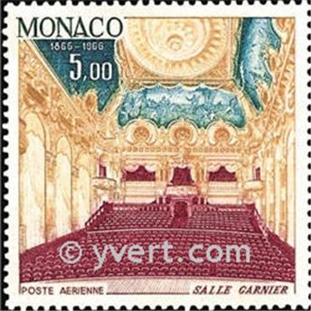 n° 87/90A -  Selo Monaco Correio aéreo