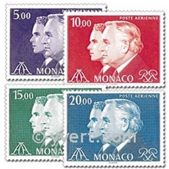 n.o 100 / 103 -  Sello Mónaco Correo aéreo