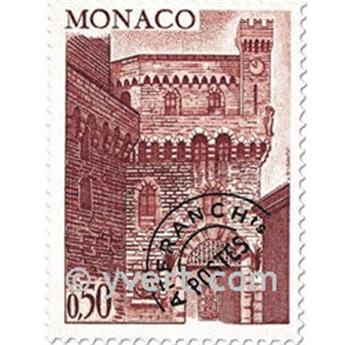 n° 38/41 -  Selo Mónaco Pré-obliterados