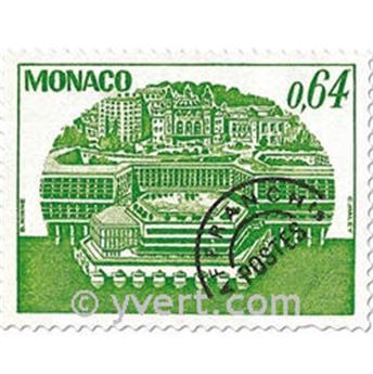 n° 58/61 -  Selo Mónaco Pré-obliterados