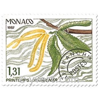 n° 94/97 -  Selo Mónaco Pré-obliterados