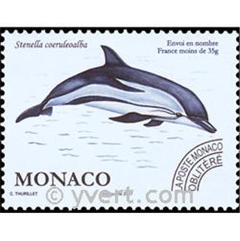 n° 114 -  Selo Mónaco Pré-obliterados