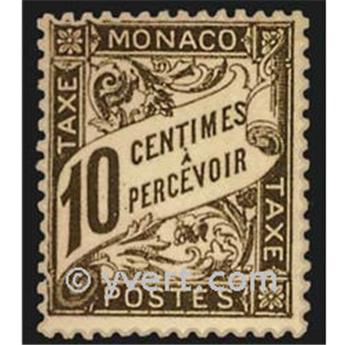 n° 4 -  Timbre Monaco Taxe