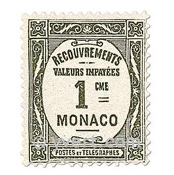 n° 13/16 -  Timbre Monaco Taxe
