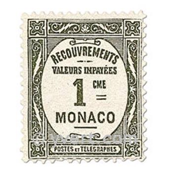 nr. 13/16 -  Stamp Monaco Revenue stamp