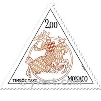 nr. 71/72 -  Stamp Monaco Revenue stamp