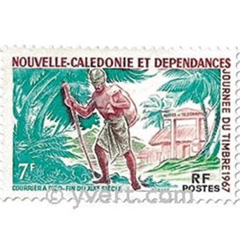 n.o 340 -  Sello Nueva Caledonia Correos