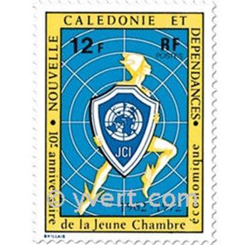 n.o 385 -  Sello Nueva Caledonia Correos