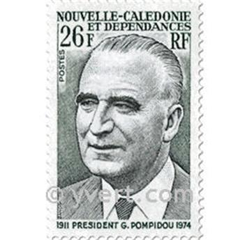 n.o 396 -  Sello Nueva Caledonia Correos