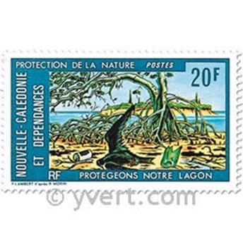 n.o 404 -  Sello Nueva Caledonia Correos