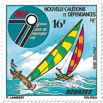 n.o 430 -  Sello Nueva Caledonia Correos